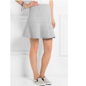 J.crew's light-gray 'surf' skirt